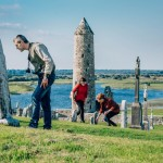 Clonmacnoise Round Tower,  Co.  Offaly