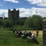 Trim Castle from Sheep Gate